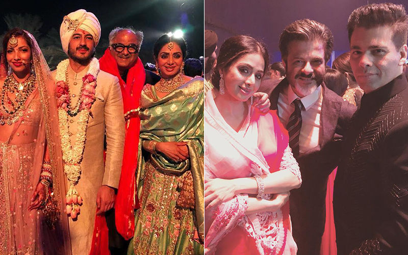 Sridevi's 1st Death Anniversary: Pictures From Mohit Marwah's Wedding- Last Public Appearance Of The Late Actress