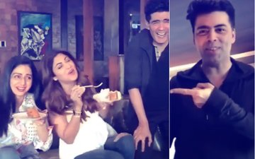 Memories: Watch Sridevi Laugh Her Heart Out With Karan Johar, Shilpa Shetty & Manish Malhotra