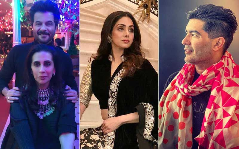 Sridevi's Birth Anniversary: Anil Kapoor, Sunita Kapoor, Manish Malhotra Remember The Late Actress