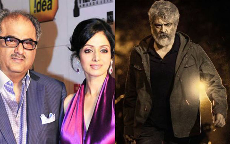 Boney Kapoor Fulfills Sridevi's Dream To See Indian Actor Ajith Kumar In A Movie Produced By Her Husband