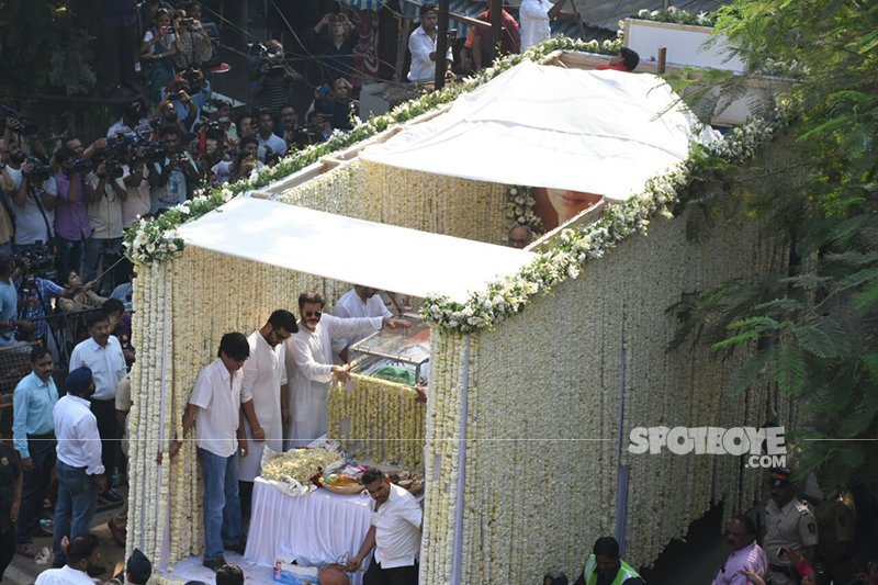 the last stage of the procession of sridevi