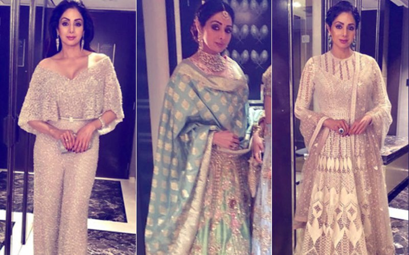 VIDEO & PICS: Sridevi's LAST APPEARANCE At Mohit Marwah's Wedding.What A Graceful Woman! Life Is So UNPREDICTABLE!