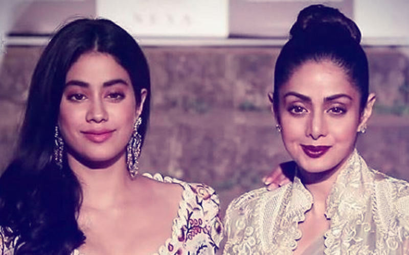 Janhvi Kapoor Has A Special Message For Mom, Sridevi, In Dhadak