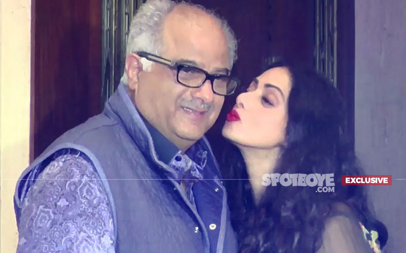 Sridevi's Hand-Painted Masterpiece Hangs In Boney Kapoor's Office