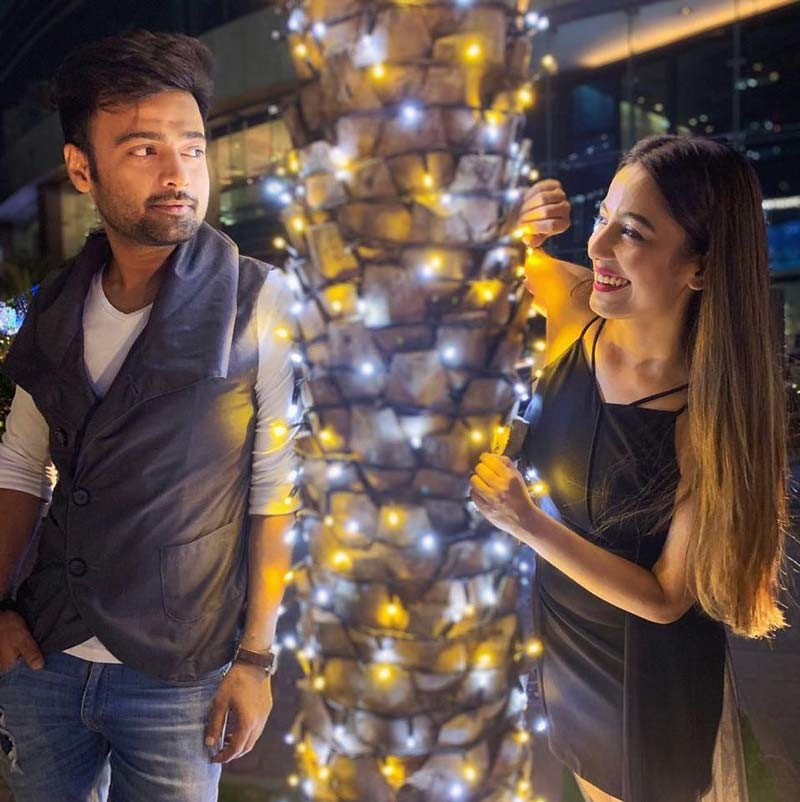 Manish Naggdev And Srishty Rode
