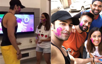 Bigg Boss 12 Rumoured Couple Srishty Rode-Rohit Suchanti Celebrate Holi Together- Watch Their Dance Videos