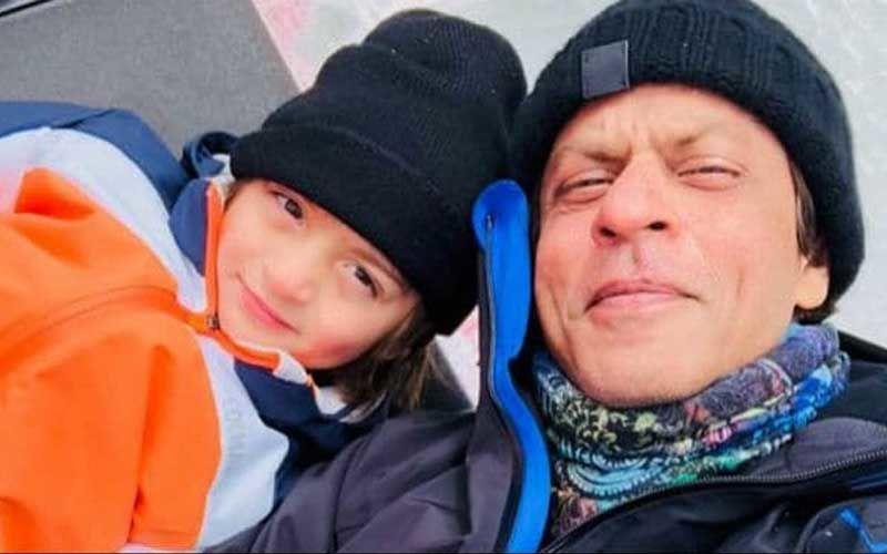 "Shah Rukh Khan's Darling Son AbRam Gets Spotted Barefoot; Netizens Ask ""Bina Chappal Ke Kidhar?"""