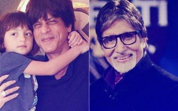 So Cute! AbRam Thinks Amitabh Bachchan Is Shah Rukh Khan's Father