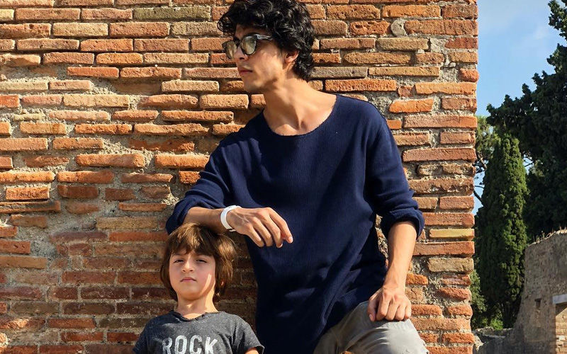 Aryan Khan Is Receiving Marriage Proposals For This Picture; AbRam Makes Headlines For His Snorkelling Shots