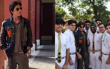 Shah Rukh Khan Visits His School St Columbus, Leaves An Overwhelmed Kid In Tears