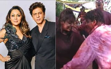 INSIDE VIDEO OF Shah Rukh Khan And Gauri Khan Grooving At Subhash Ghai's 2000 Holi Party Goes Viral