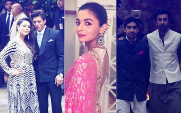 Akash Ambani Pre-Engagement Party: Ranbir Waits For Alia, SRK-Gauri Make A Grand Entry