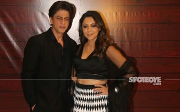Gauri Khan Shares A Sneak Peek Into Her New Collection; Wait, Are Those Shah Rukh Khan Miniatures Behind Her? Check Out Here