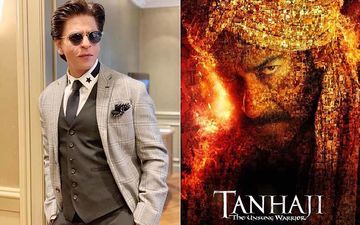 'From Striding Atop 2 Motorcycles, You Have Come A Long Way;' Shah Rukh Khan Congratulates Ajay Devgn On His 100th Film, Tanhaji