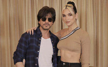 Shah Rukh Khan Meets Dua Lipa Ahead Of Concert With Katy Perry; Teaches Her New Dance Steps
