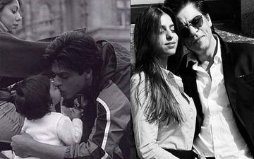 Shah Rukh Khan And Suhana Khan's Then And Now Picture Will Warm Your Heart; Baby Suhana Is Such A Munchkin