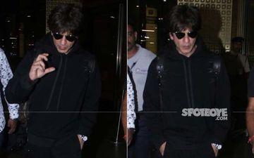 Shah Rukh Khan Back To Aamchi Mumbai Post Attending Daughter Suhana's Graduation Ceremony