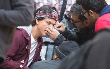 SRK Injured