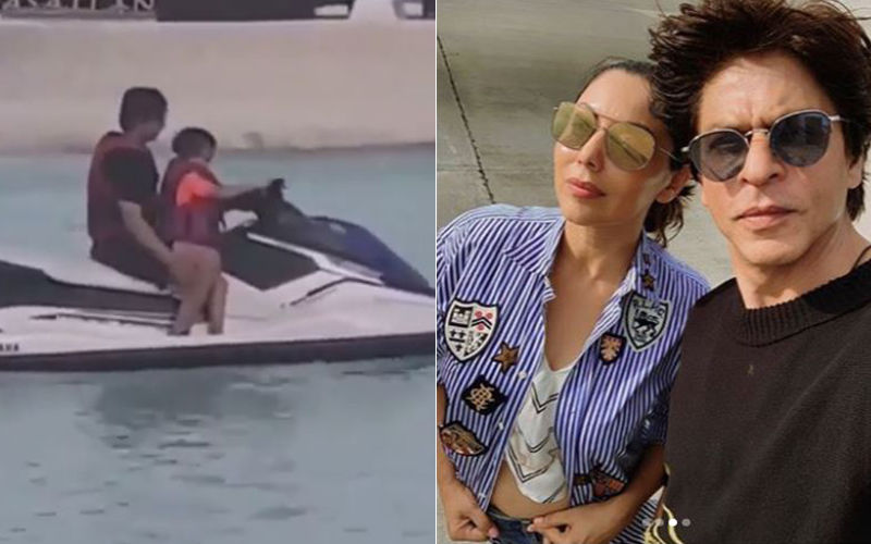 Shah Rukh Khan's Family Vacation: Inside Pics Of AbRam And Aryan Khan Will Make You Pack Your Bags Now
