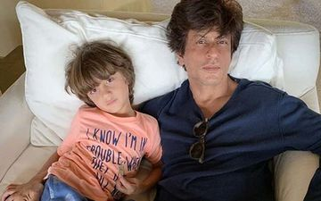 Shah Rukh Khan's Son AbRam Enjoys The Clear Blue Waters Of Dubai; His Cousin Alia Chhiba Shares An Adorable Snap Of 'Baby Mushroom'- PIC INSIDE