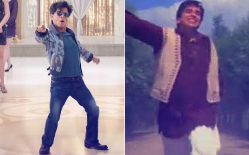 SRK Grooves To Shashi Kapoor's Iconic Number From Jab Jab Phool Khile