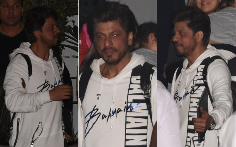 Shah Rukh Khan Returns To The Maximum City, Post KKR Victory