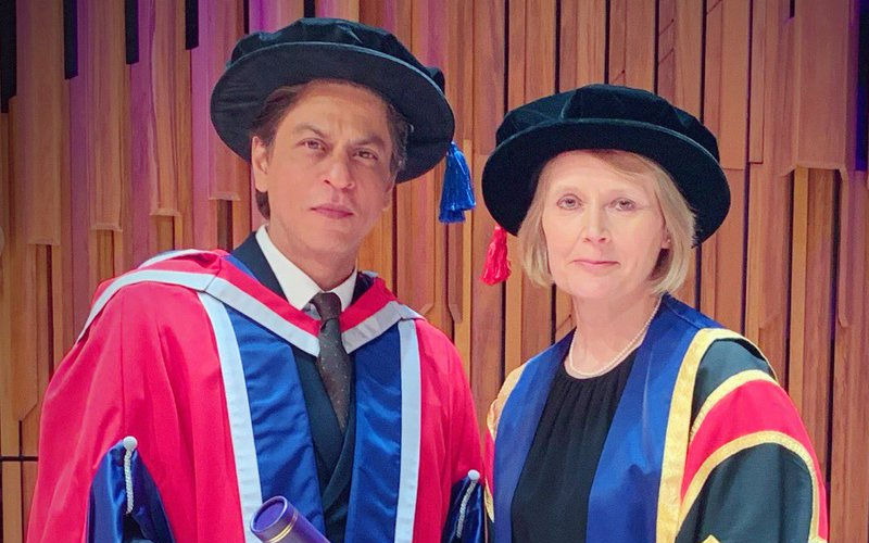 Shah Rukh Khan Receives His 4th Doctorate Degree