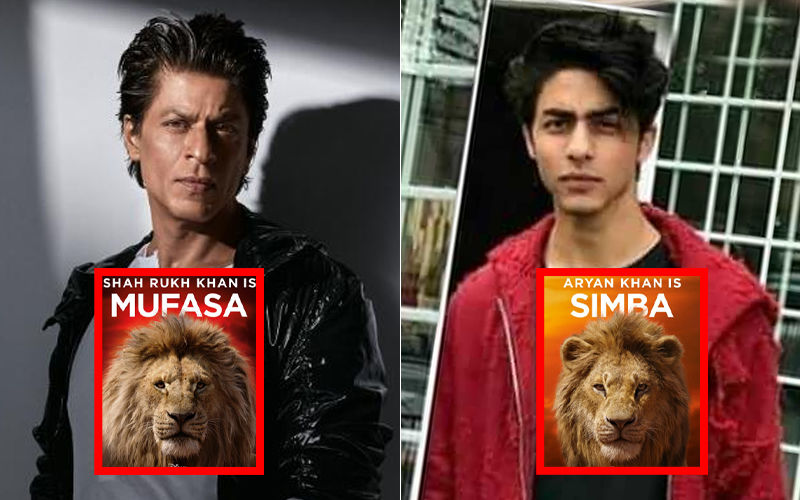 Shah Rukh Khan Teams Up With Son Aryan; Duo To Lend Their Voices For The Lion King