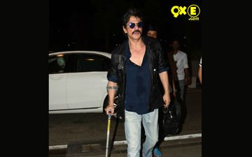 Shahrukh Khan Snapped In His New Look For Dilwale