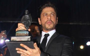 Srk Honoured With Dadasaheb Phalke Film Foundation Award