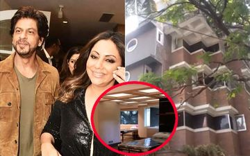 INSIDE Shah Rukh Khan And Gauri Khan's 4-Storied Office Which Gauri Transformed Into BMC Quarantine Facility-VIDEO
