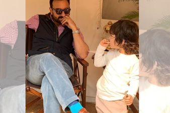 Taimur Ali Khan Enjoys A Farming Session With Daddy Saif Ali Khan In Pataudi; What Fun! PICS INSIDE