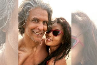 Amidst Nudity Controversy, Another Shirtless Picture Of Milind Soman Hits The Internet Courtesy Wife Ankita Konwar