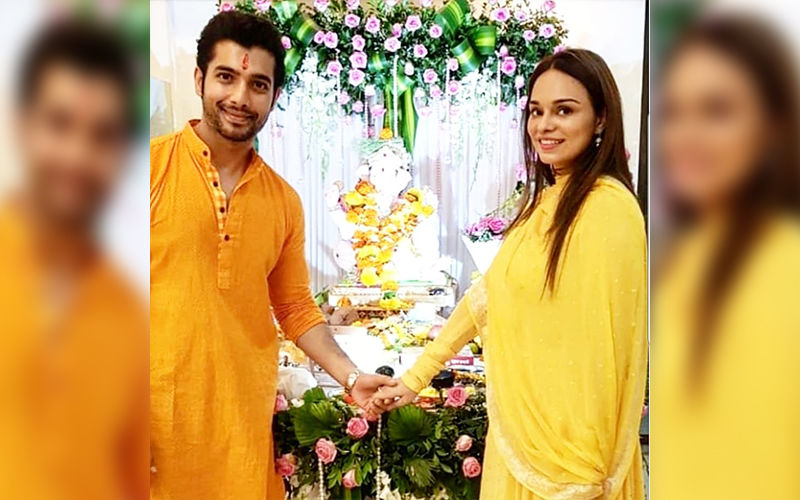 "Ssharad Malhotra Goes Ecstatic About His New Love Ripci Bhatia; Says, ""I'm Lucky To Have Her"""