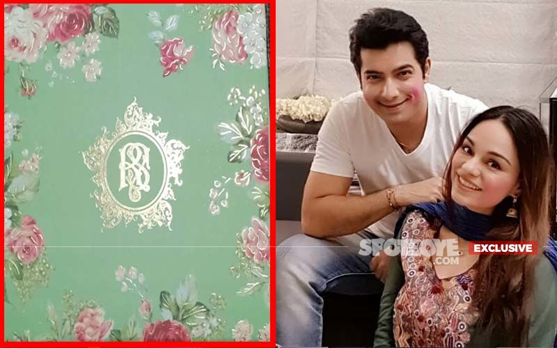 Ssharad Malhotra-Ripci Bhatia Wedding Card: Shades Of Pastel Green With Floral Theme- Get An EXCLUSIVE Peek