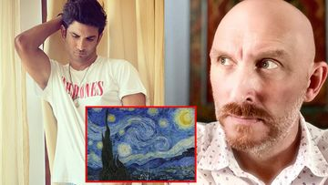 Sushant Singh Rajput's Fave Van Gogh's Starry Night Painting Spotted In Paranormal Expert Steve Huff's Room; Fans Are SHOCKED Over This Coincidence