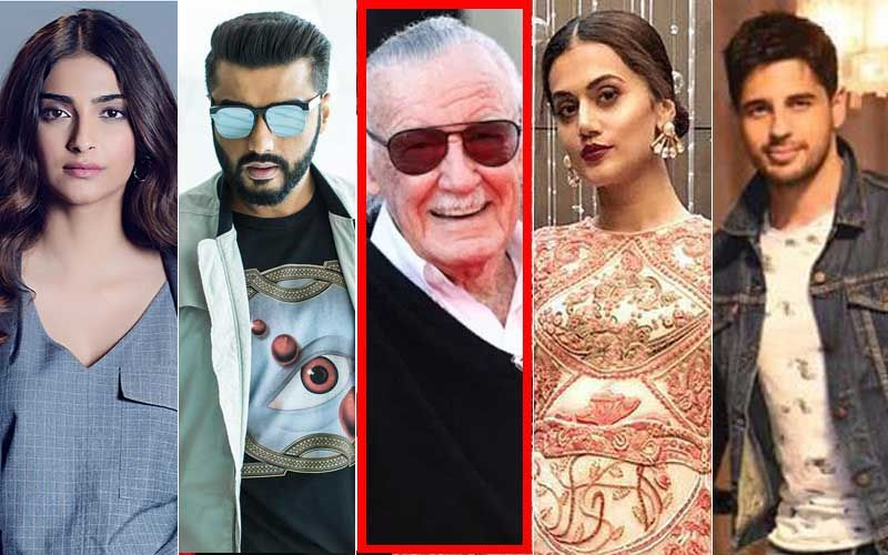 Marvel Universe Mourns As Stan Lee Passes Away; Sonam Kapoor, Taapsee Pannu, Arjun Kapoor, Sidharth Malhotra Express Grief