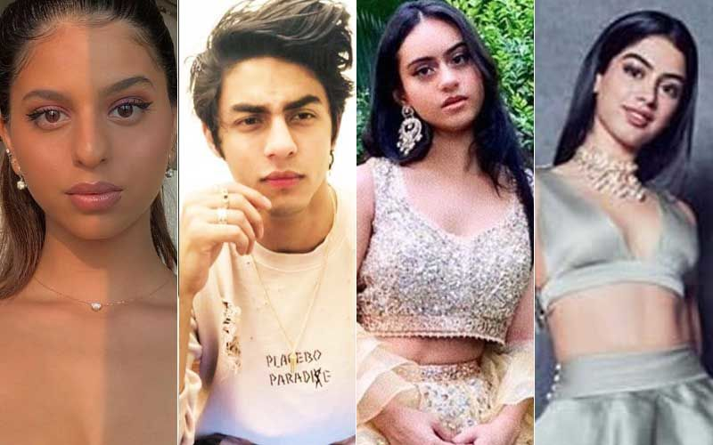 Suhana Khan, Aryan Khan, Khushi Kapoor, Nysa Devgn- List Of Star Kids Who Are Are Studying Abroad But Might Mark A Bollywood Debut