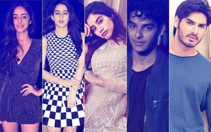 Ananya, Sara, Janhvi, Ishaan, Ahan: Which Star Kid Will Strike It BIG In Bollywood In 2018?