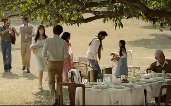still from a death in the gunj