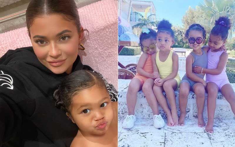 Happy Birthday Stormi: Kylie Jenner Shares Video Compilation Of Her Baby Girl; Father Travis Scott, Aunt Kim Kardashian Extend Warm Birthday Wishes