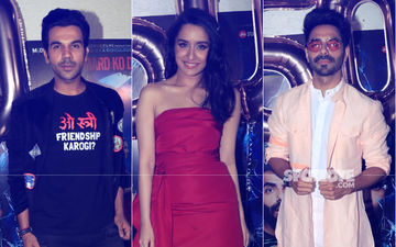 Stree Success Bash: Rajkummar Rao, Shraddha Kapoor & Aparshakti Khurrana Are All Smiles