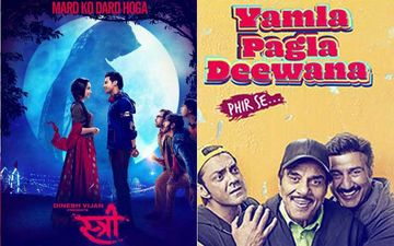 Stree, Yamla Pagla Deewana Phir Se Box-Office Collection, Day 1: Shraddha's Spooky Tale Takes Off While Deols Stumble
