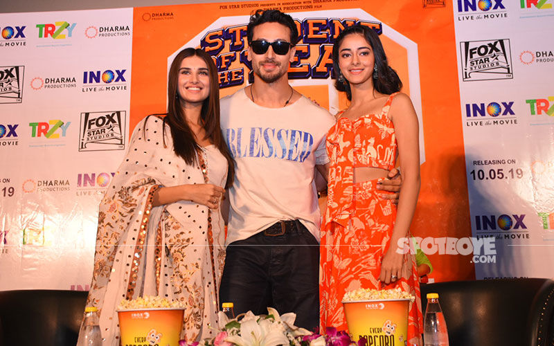 Tiger Shroff, Ananya Panday, Tara Sutaria Promote Student Of The Year 2 In The Pink City
