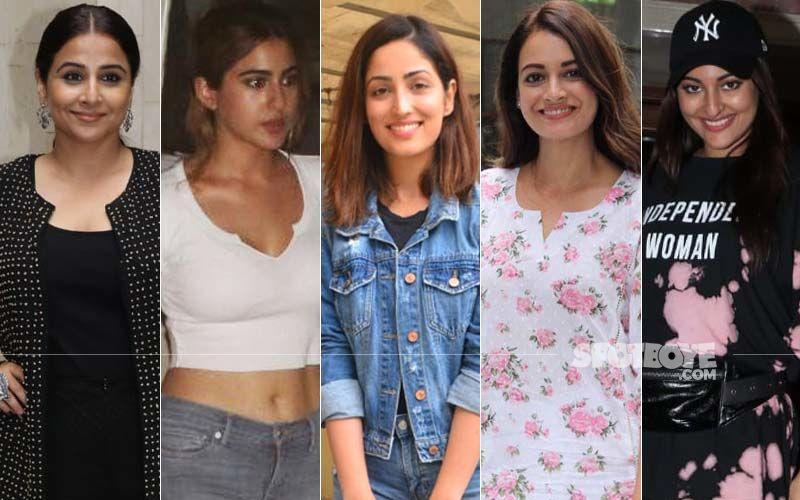 STUNNER OR BUMMER: Dia Mirza, Yami Gautam, Sara Ali Khan, Vidya Balan Or Sonakshi Sinha?