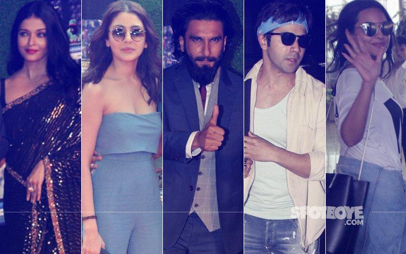 STUNNER OR BUMMER: Aishwarya Rai Bachchan, Anushka Sharma, Ranveer Singh, Varun Dhawan Or Sonakshi Sinha?