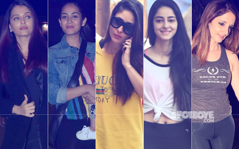 STUNNER OR BUMMER: Aishwarya Rai Bachchan, Mira Rajput, Kareena Kapoor, Ananya Pandey Or Sussanne Khan?