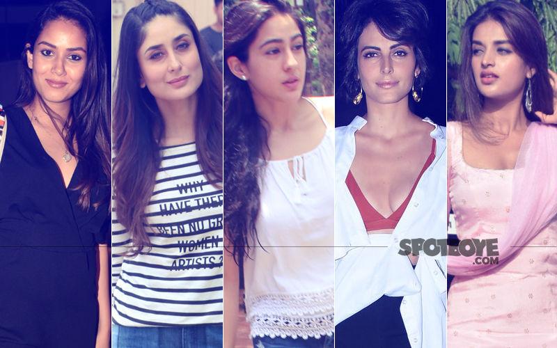 STUNNER OR BUMMER: Mira Rajput, Kareena Kapoor, Sara Ali Khan, Mandana Karimi Or Nidhhi Agerwal?