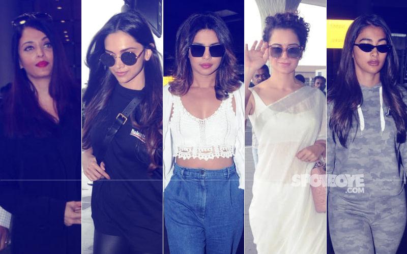STUNNER OR BUMMER: Aishwarya Rai, Deepika Padukone, Priyanka Chopra, Kangana Ranaut Or Pooja Hegde?