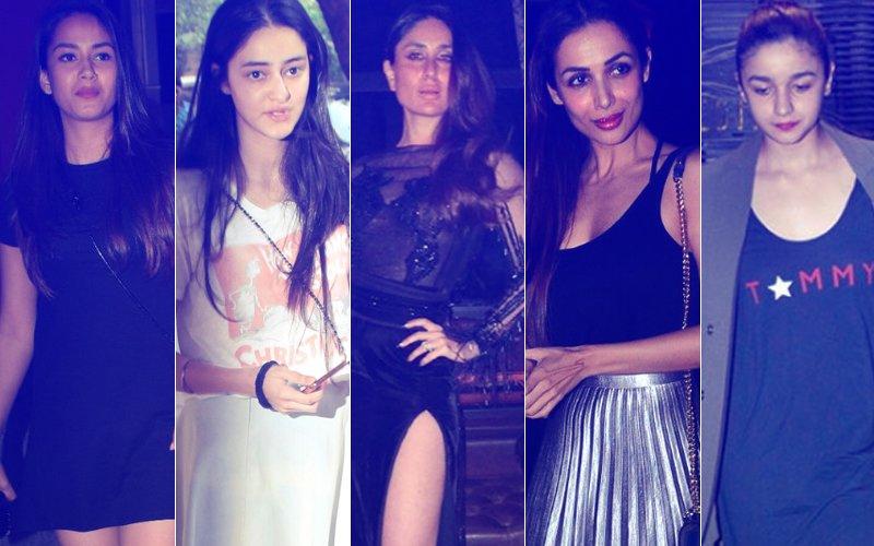 STUNNER OR BUMMER: Mira Rajput, Ananya Pandey, Kareena Kapoor, Malaika Arora Or Alia Bhatt?